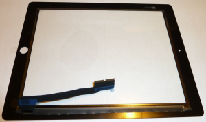 The full digitizer, as seen from the back.
